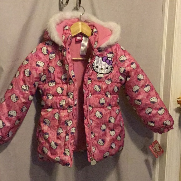 1640c95a8 Hello Kitty Jackets & Coats | Puffer Coat | Poshmark